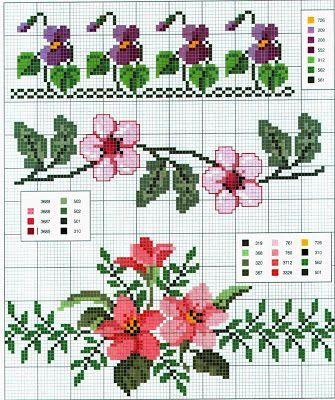 viole e fiori