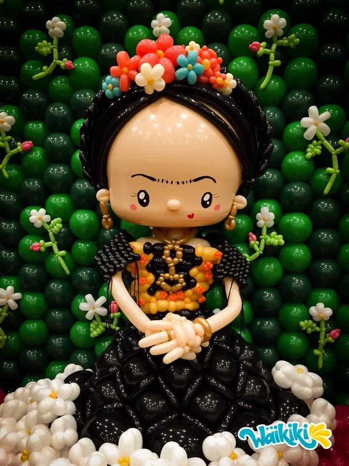 Pin de Canti Lam en Balloon Pinterest Frida kahlo, Globo y Frida