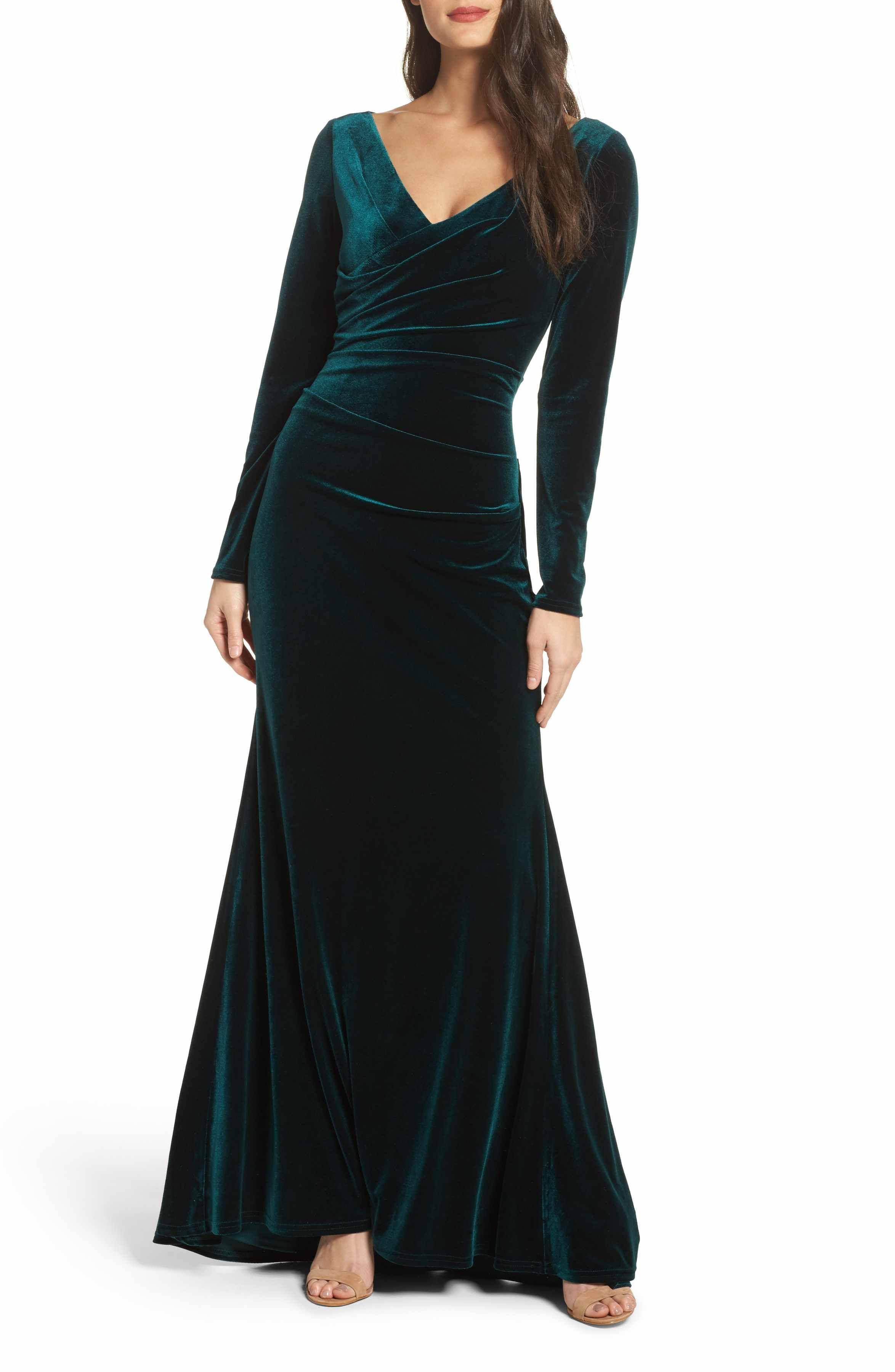 Velvet gown velvet gown vince camuto and petite