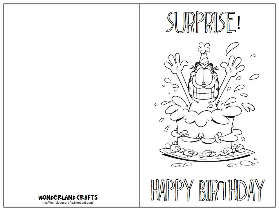 Quality Foldable Birthday Card Template In 2021 Free Printable Birthday Cards Birthday Card Template Free Coloring Birthday Cards