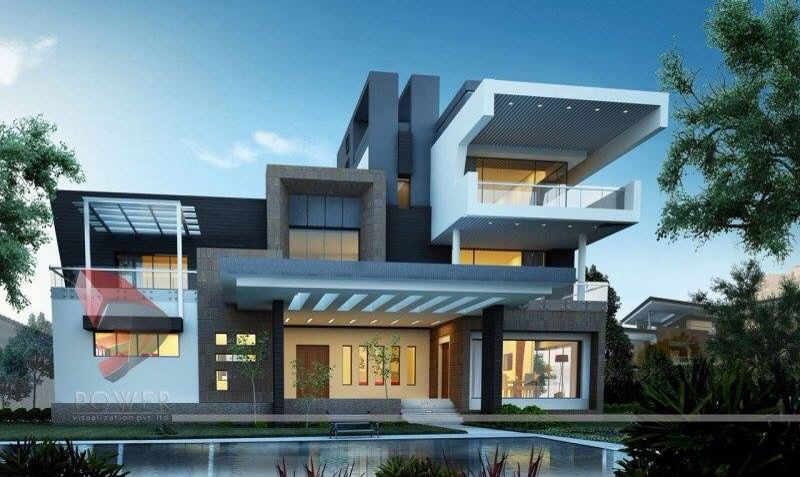 Beautiful modern residence by 3D Power Visualisation