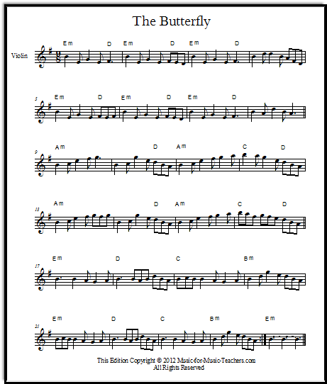 Free Irish fiddle sheet music \