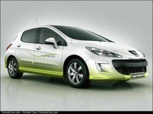2007 Peugeot 308 83mpg Diesel Hybrid - http://sickestcars.com/2013/06/07/2007-peugeot-308-83mpg-diesel-hybrid/