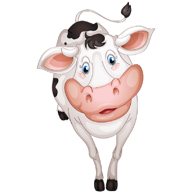 cute cow6 Animal decor, Cow, Cute images