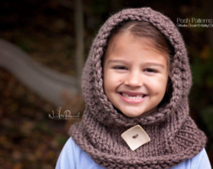 Knitting Patterns Knit Hooded Cowl Hooded Scarf Knit Hooded