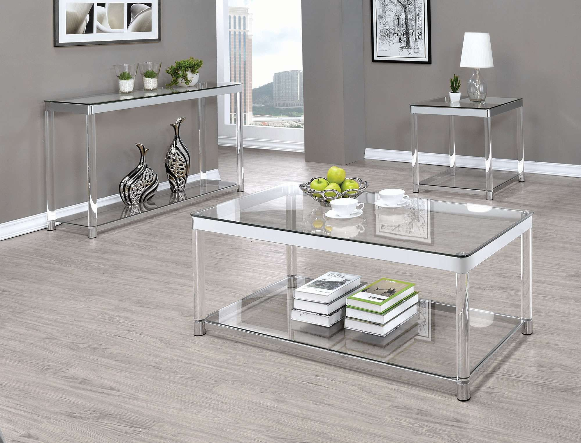 Coaster Sofa Table With Glass Top Reviews Goedekers Com Coffee Table Table Furniture