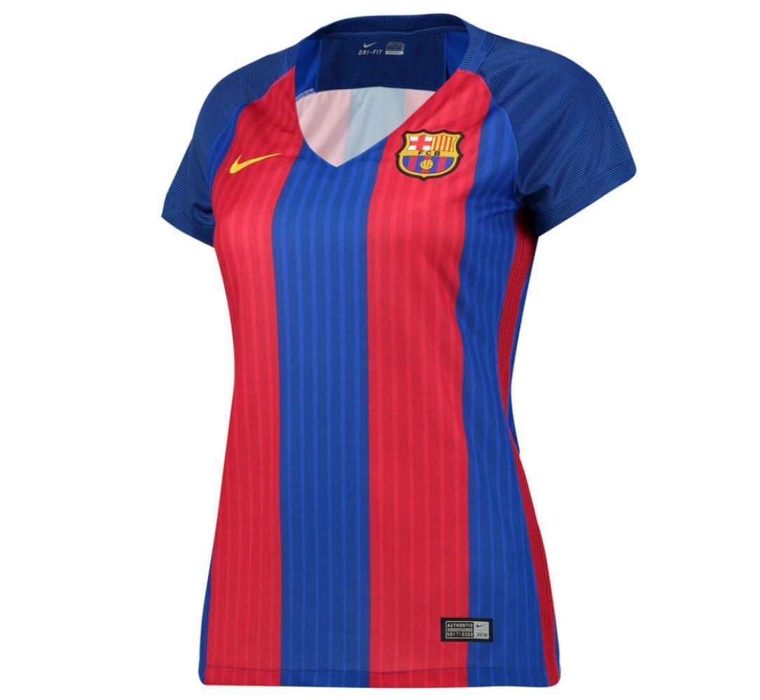 Nike fc barcelona womens home jersey 2016 17  4221c46c900