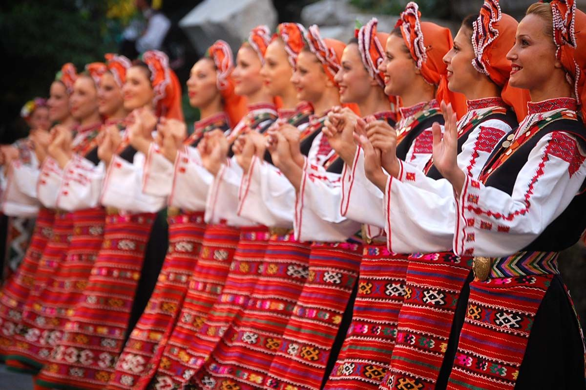Bulgaria Traditional Costumes Vestidos Tradicionales Bulgaria Food Bulgarian Women Central And Eastern Europe