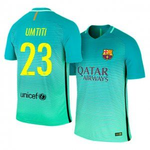 best authentic be99c 89328 16-17 Barcelona Third #23 Umtiti Sale Football Shirt [J00170 ...