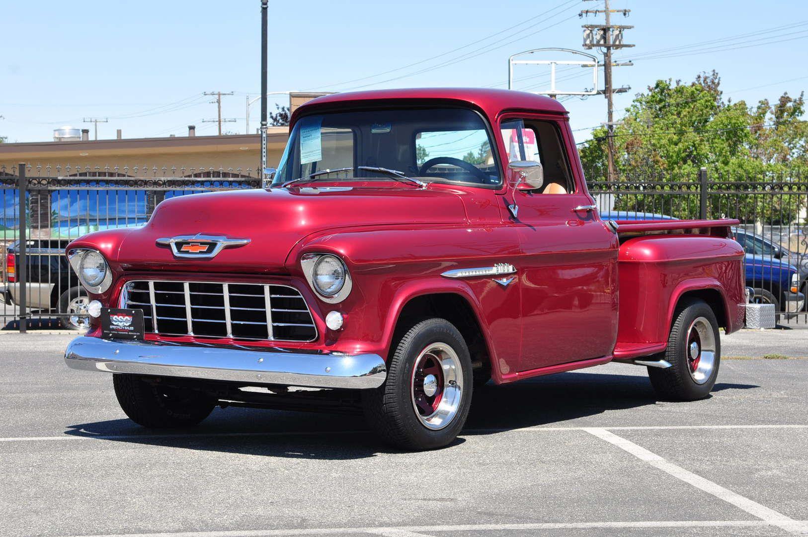 1955 chevrolet 3100 1 2 ton 2 door pickup stepside lwb