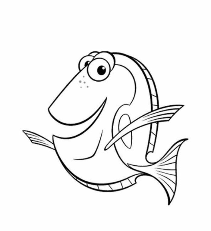 Coloring Pages of Finding Nemo u2013 A Splendid Animated Adventure - new pixar coloring pages finding nemo