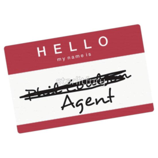 Hi My Name Is Agent Red T Shirt By Starlitfury