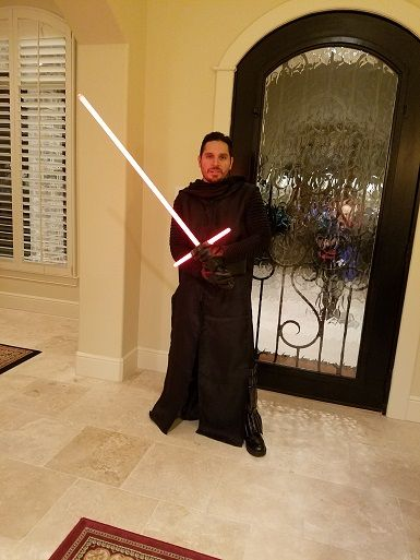 STAR WARS COSTUMES: - Thanks again for the great Kylo Ren costume!  http://www.jedirobeamerica.com/430,70408,star_wars___replica_costumes.kylo_ren_costumes._Star_Wars_The_Force_Awakens_Kylo_Ren_Replica_Costume_including_Belt___Replica_Star_Wars_Costume.html