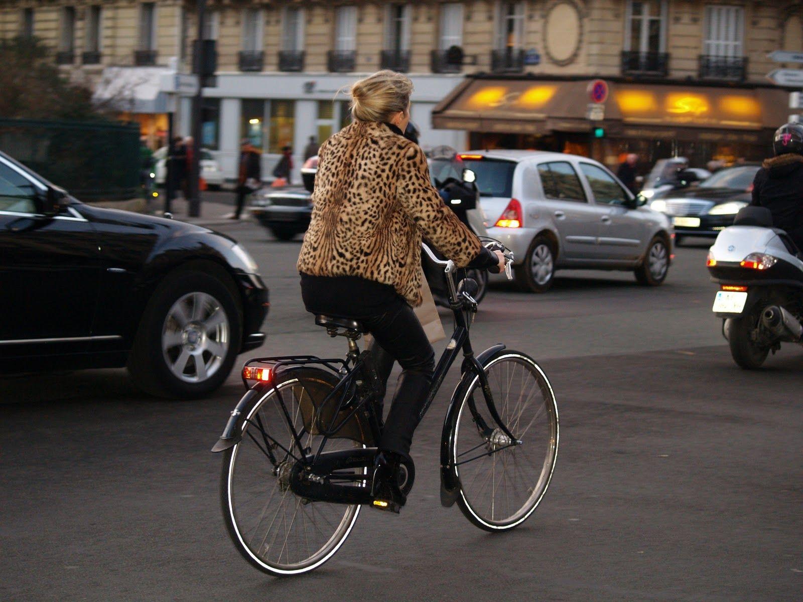 Parisian biker
