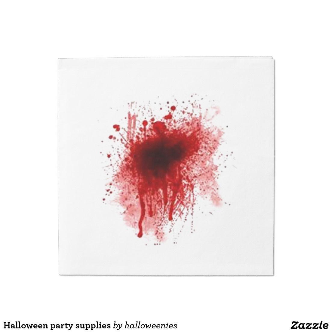 Halloween party supplies napkin | Party supplies, Halloween party ...