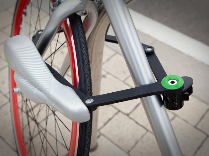 This Bicycle Saddle Doubles As A Lock Bike Bicycle Bike Lock