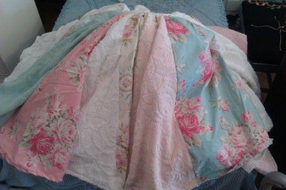 shabby chic christmas tree skirts shabby chic vintage christmas rh pinterest com