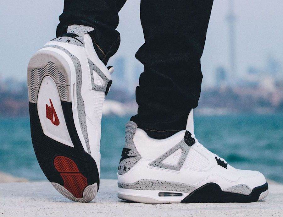 Nike Air Jordan 4 OG 89 White Cement 2016 - Sneaker Bar Detroit