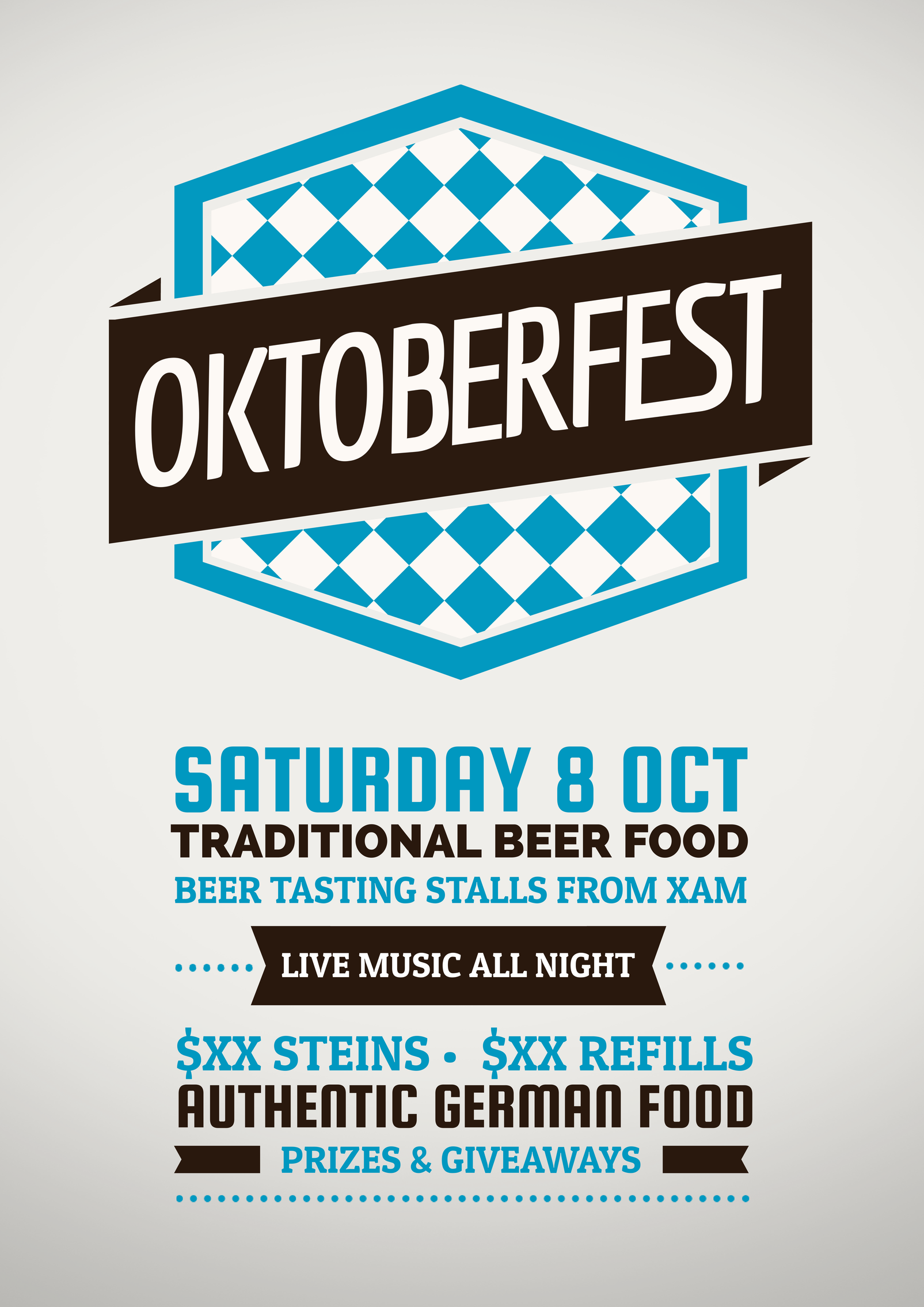 free oktoberfest promotional template use this template for your
