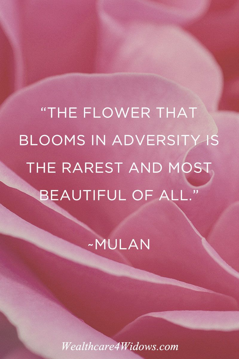 The Flower That Blooms In Adversity Is The Rarest And Most Beautiful