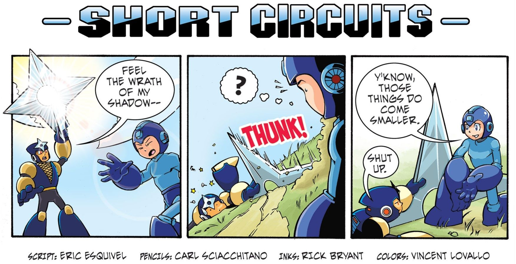 KRISTIE: Mega man comic strip