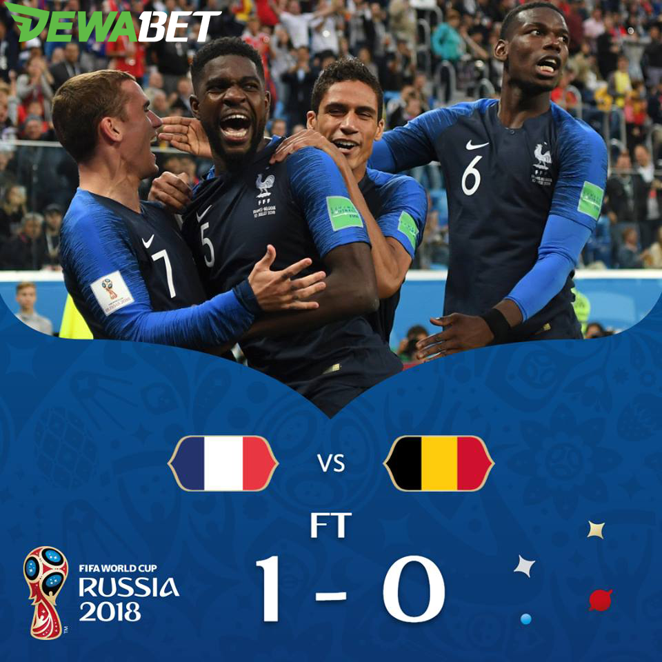Umtiti S Goal Takes France To Their Third Fifa World Cup Final France Belgium Fifa Fifaworldcup Worldcup Worldcup2018 Russia 2018 Copa Do Mundo Futebol