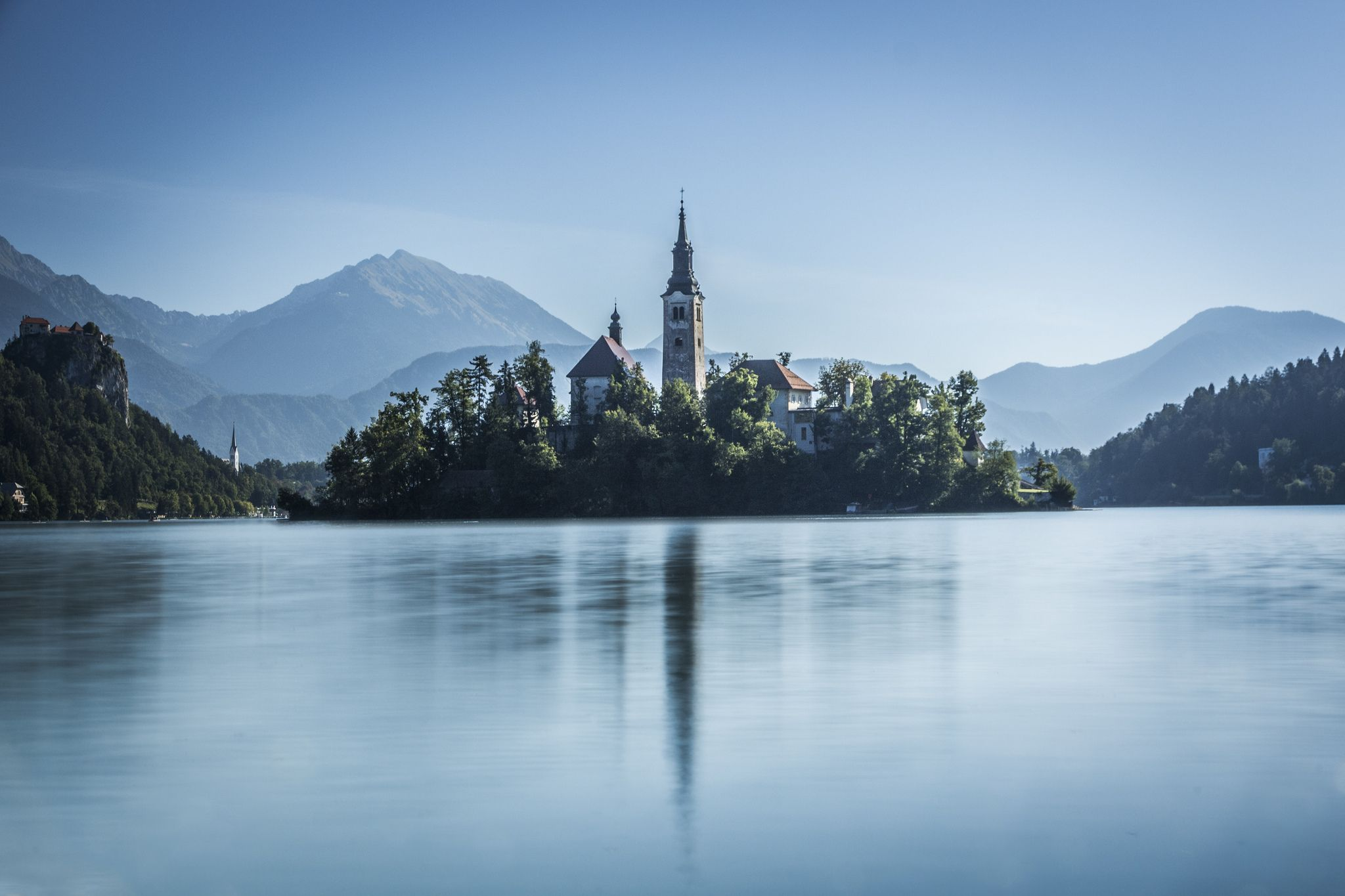 https://flic.kr/p/y8n8J3 | Bled island | View over Lake Bled. I walked around…