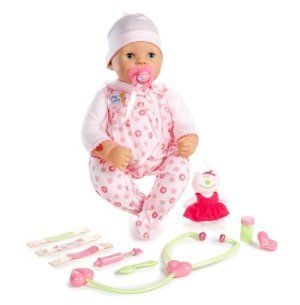 MGA Chou Chou- Mommy Make Me Better Doll by MGA Entertainment. $38.00. Press her tummy to hear her laugh. Her heart beat can be heard by using the provided stethoscope. Her red cheeks disappear when she is fed with medicine spoon. Press her back to hear her cry. She stops crying when you put the pacifier or thermometer in her mouth. Amazon.com                Zapf Creations lets little girls take pretend play to a whole new level with the Chou Chou Mommy, Make Me Bett...
