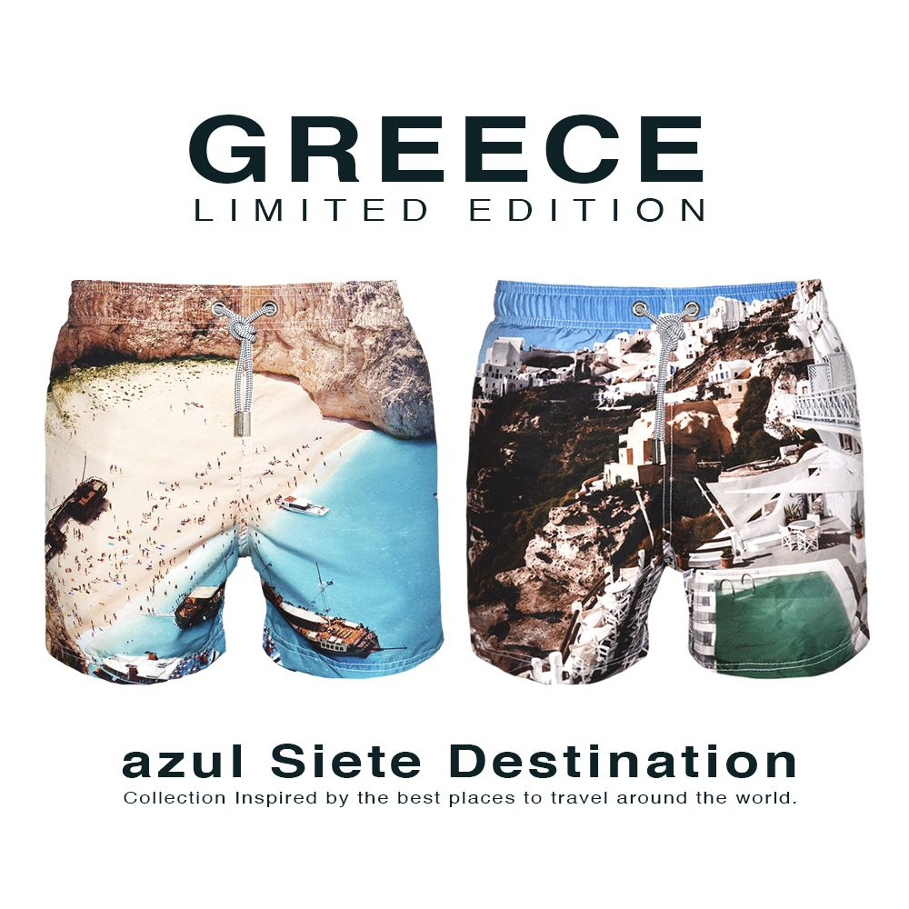 Today we are happy to announce our new and first azul Siete Destination collection which will be available for everyone at the online store in two days.