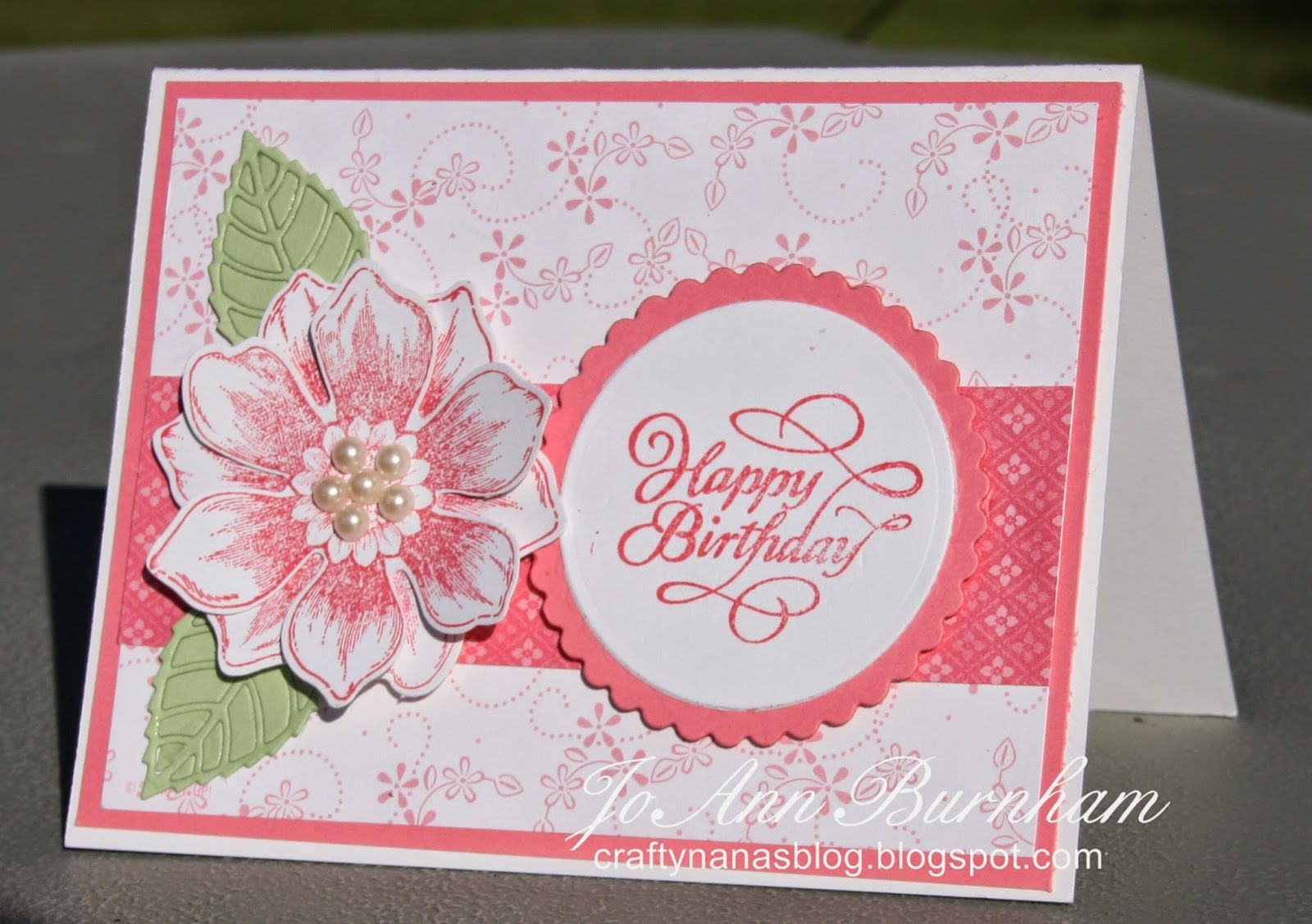 My card for the Seize the Birthday challenge.