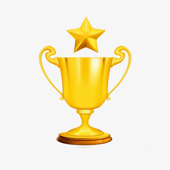 Star Badge Trophy Golden Highlight Design Png Transparent Clipart Image And Psd File For Free Download Star Badge Trophy Design Trophy