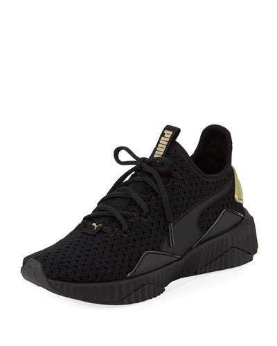 Puma Defy Varsity Knit Sneakers   Puma