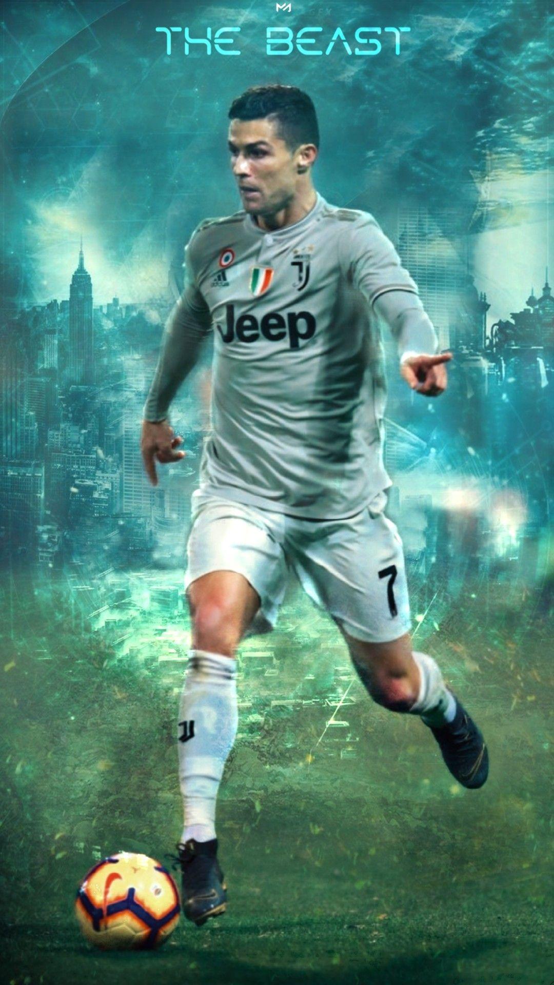 Football Player Cristiano Ronaldo Hd Wallpaper