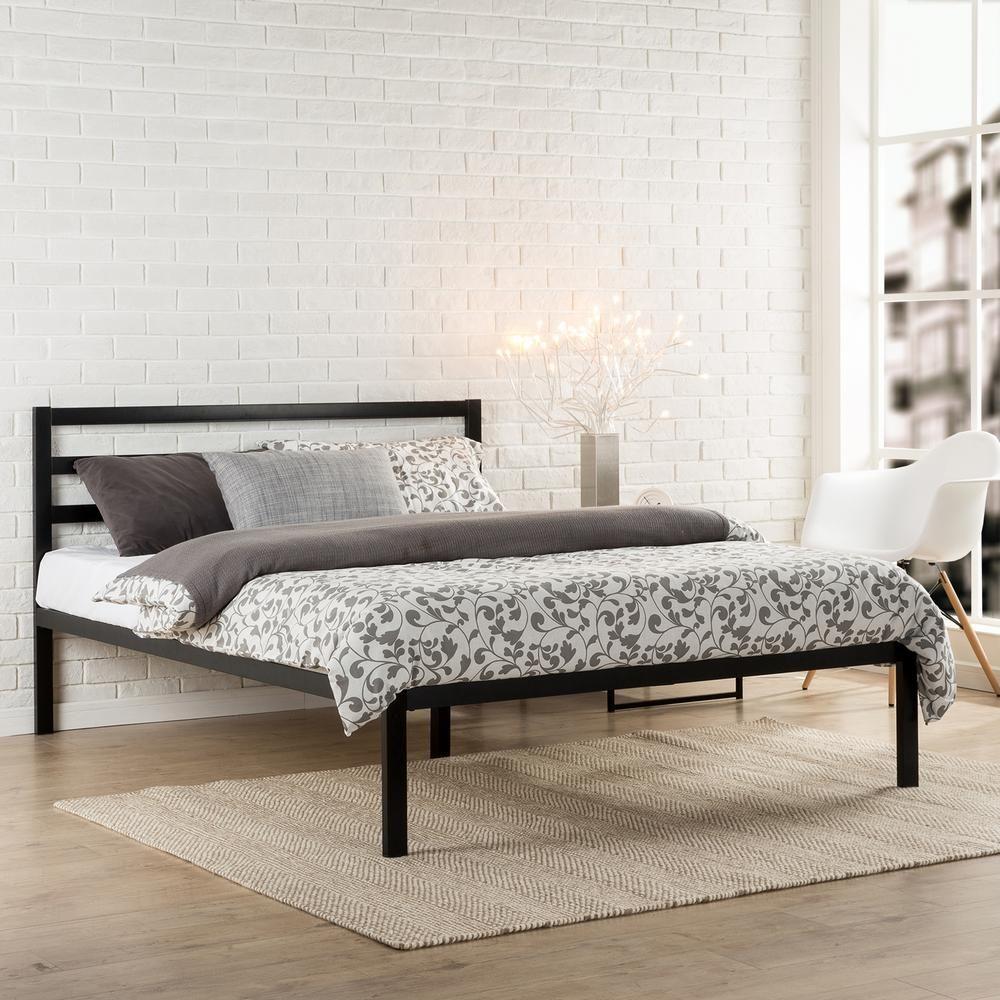 afd177f51ba0 Zinus Mia Steel 1500H Platform Bed Frame