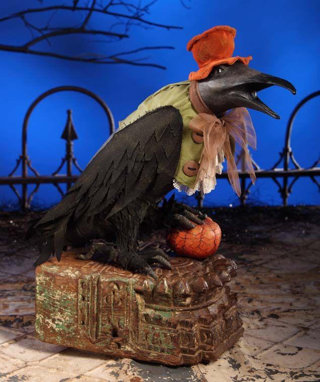 halloween parties - Raven Halloween Decorations