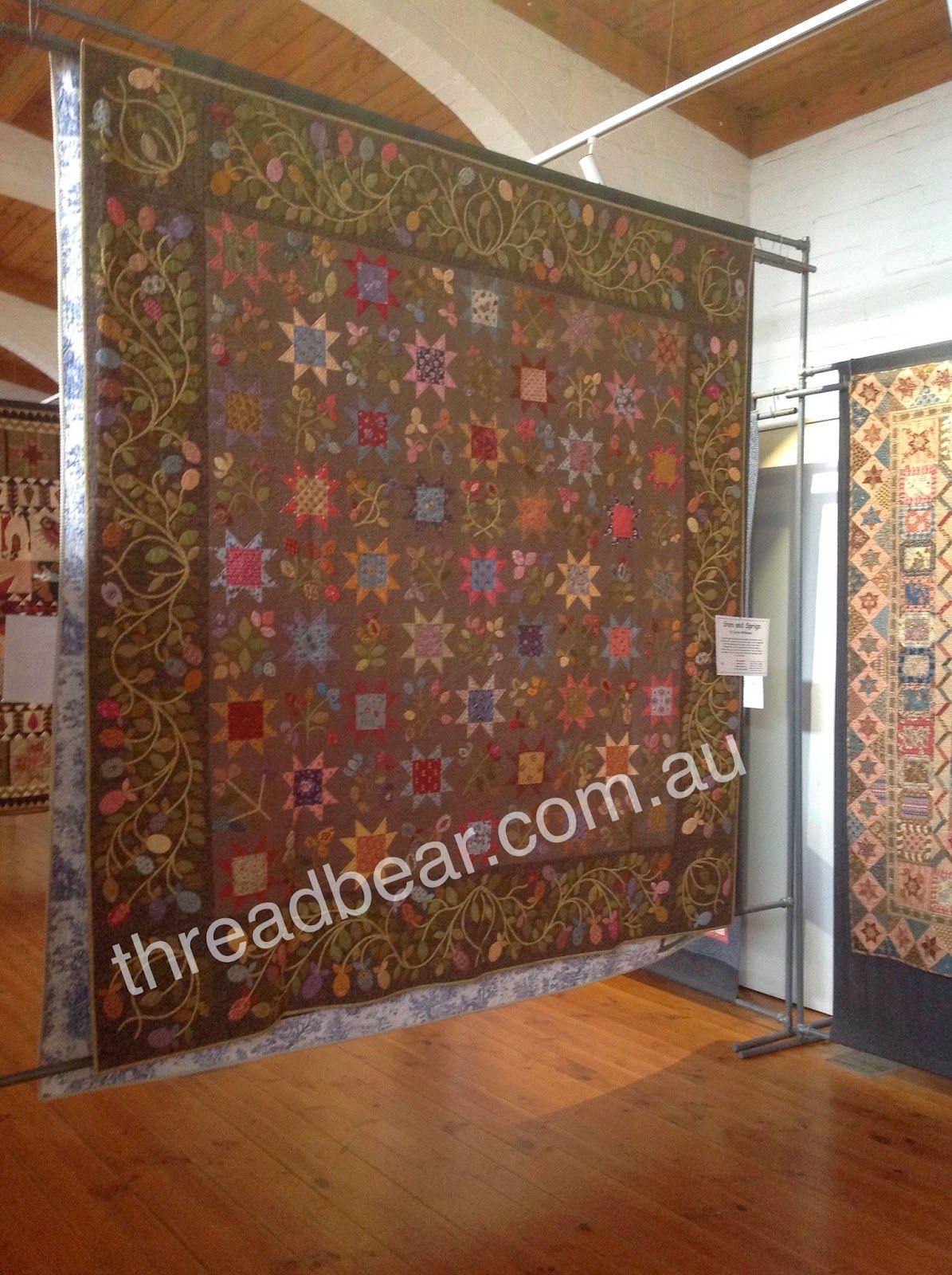 Threadbear: THANK YOU. From Castlemaine Quilt Exhibition Stars and ... : threadbear quilts - Adamdwight.com