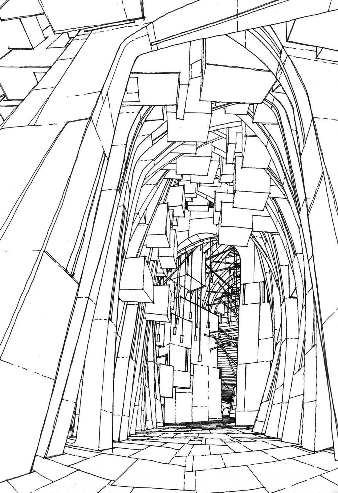 Imaginary Jerusalem Drawing By Stefan Davidov