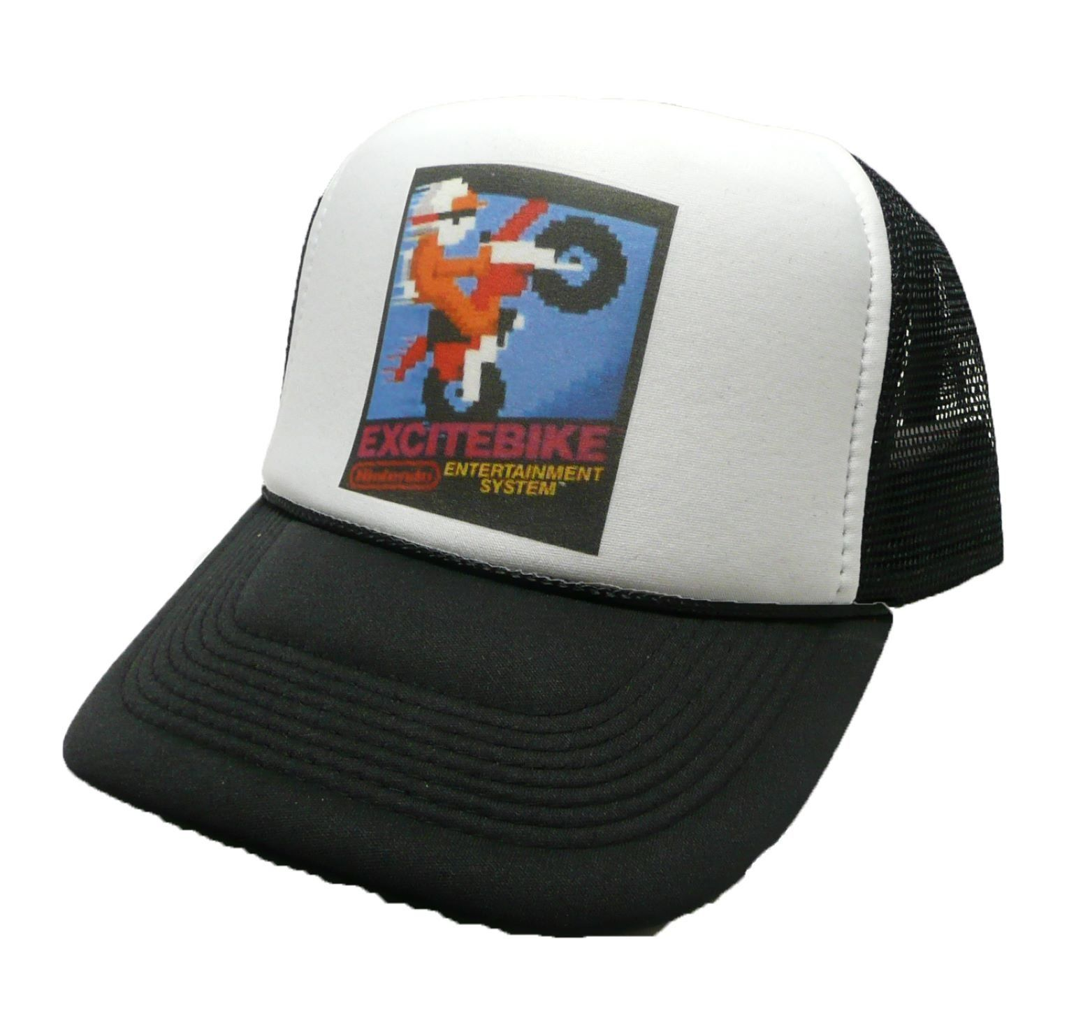 NEW VINTAGE WASHED MESH TRUCKER HAT BASEBALL CAP BLACK  DECKY  Trucker  20463ec30c3d