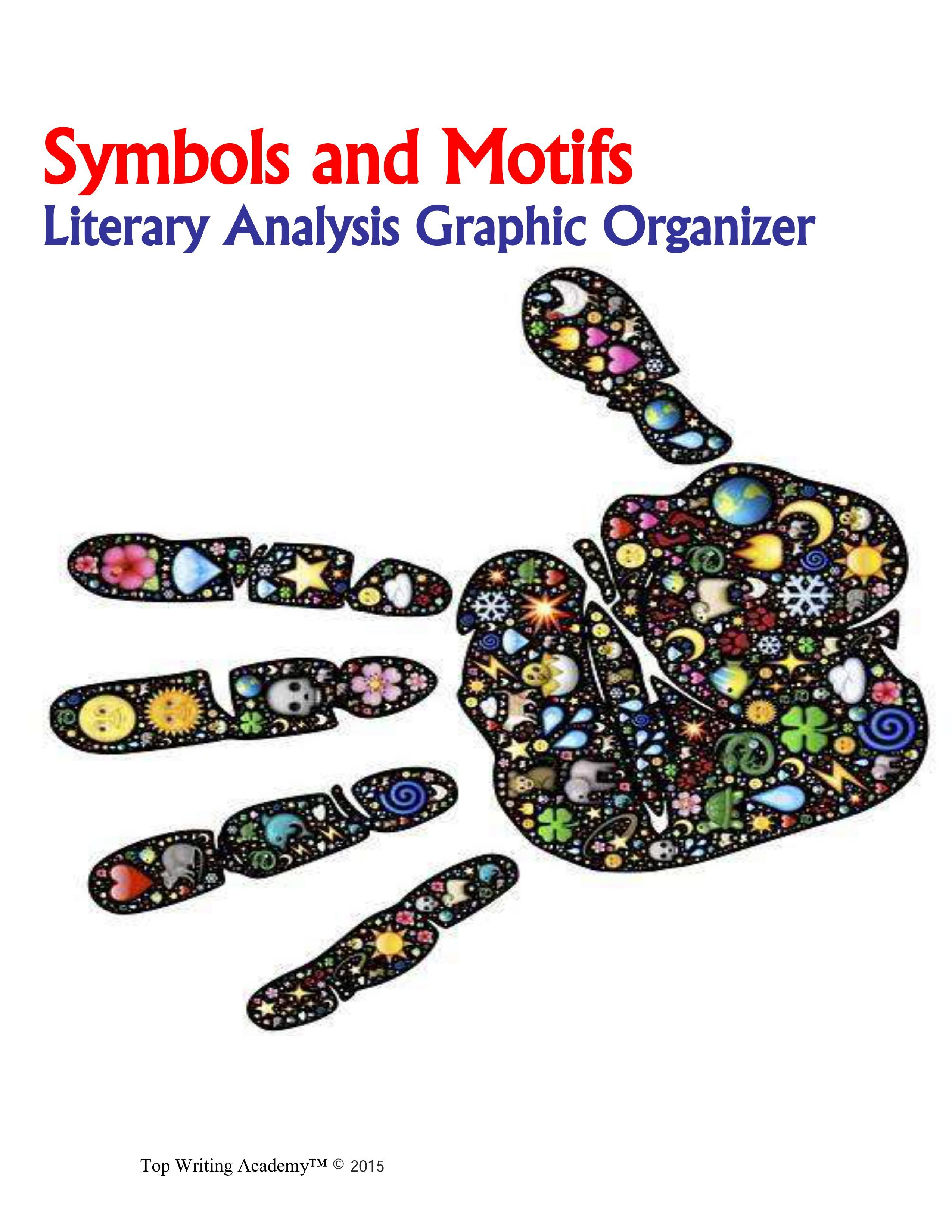 Literary elements symbolism symbols and motifs graphic this collection of resources is designed to help facilitate student understanding of the development of symbols biocorpaavc Images