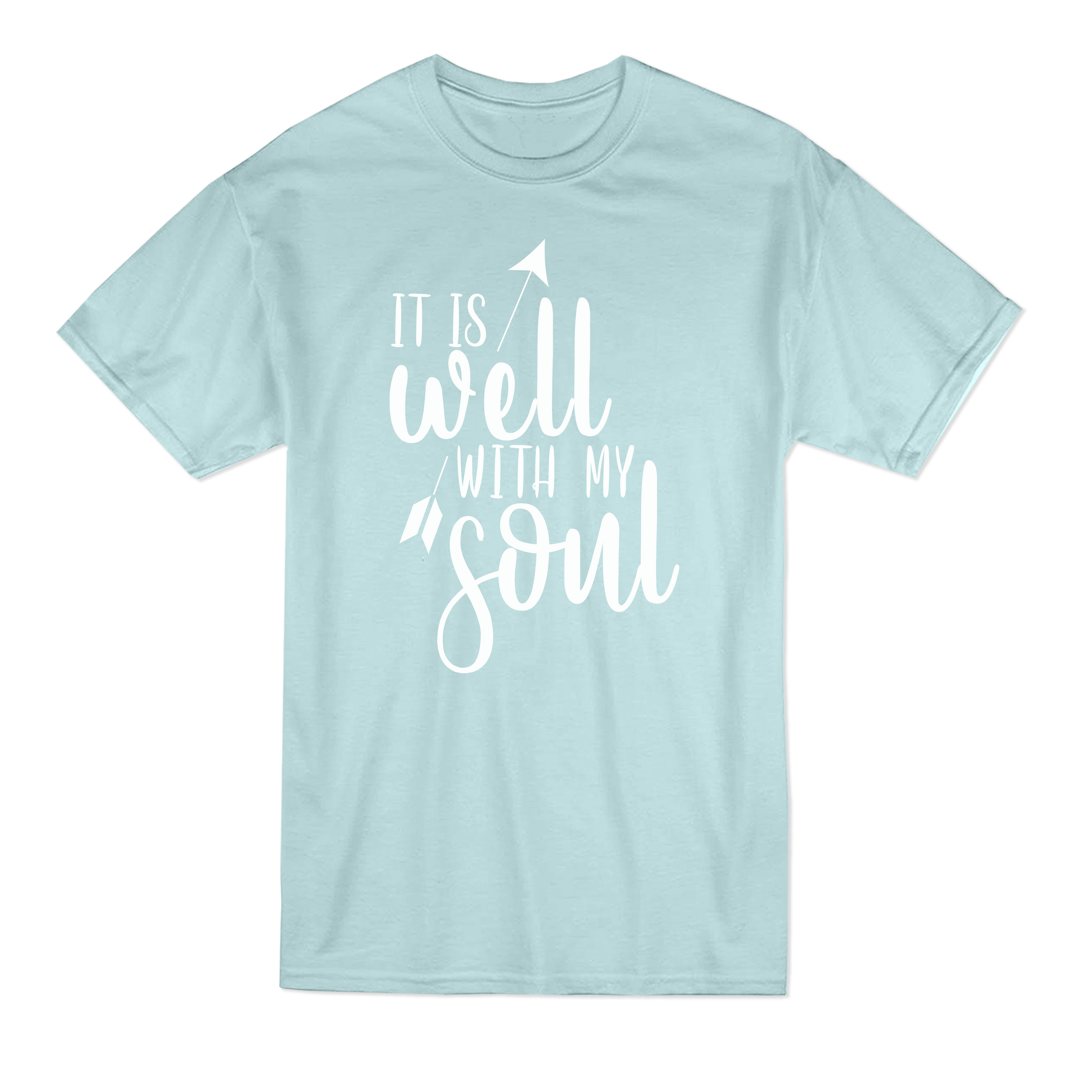 it is well with my soul - christian tees, christian t-shirt, womens