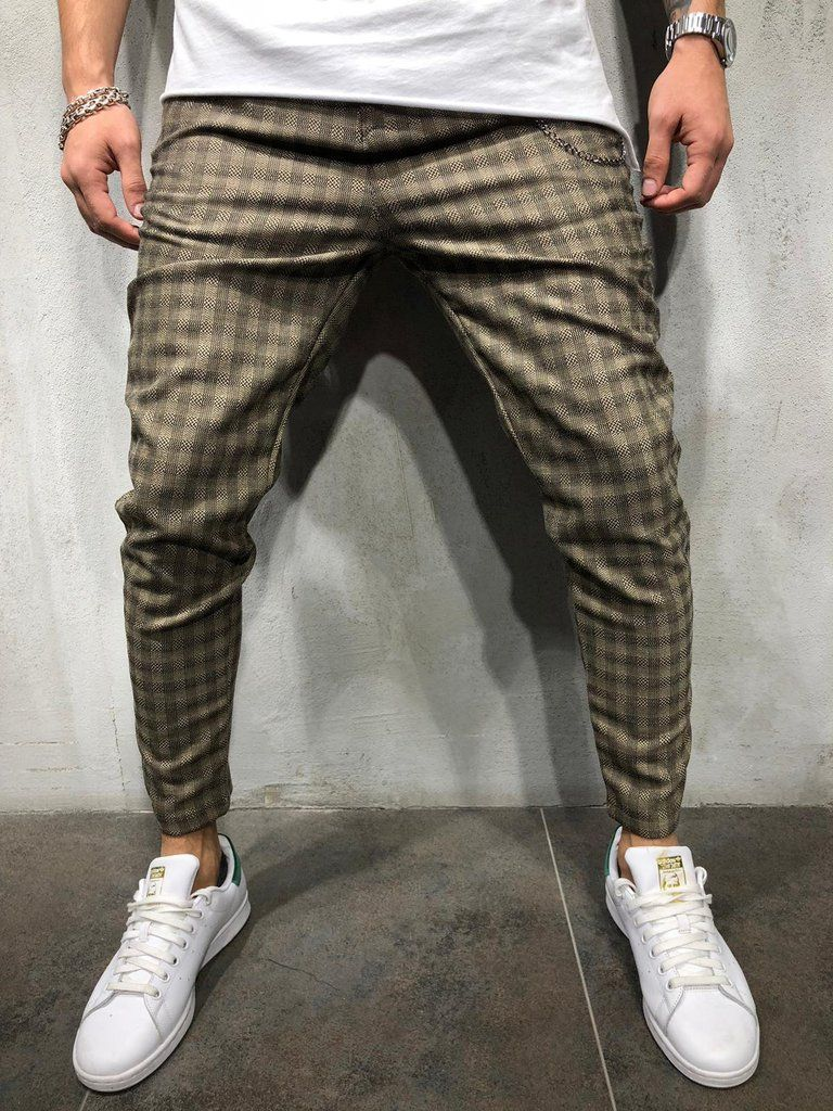 3b6990e59f  mensweardaily  mensstyle  menwithstyle Mens Plaid Pants