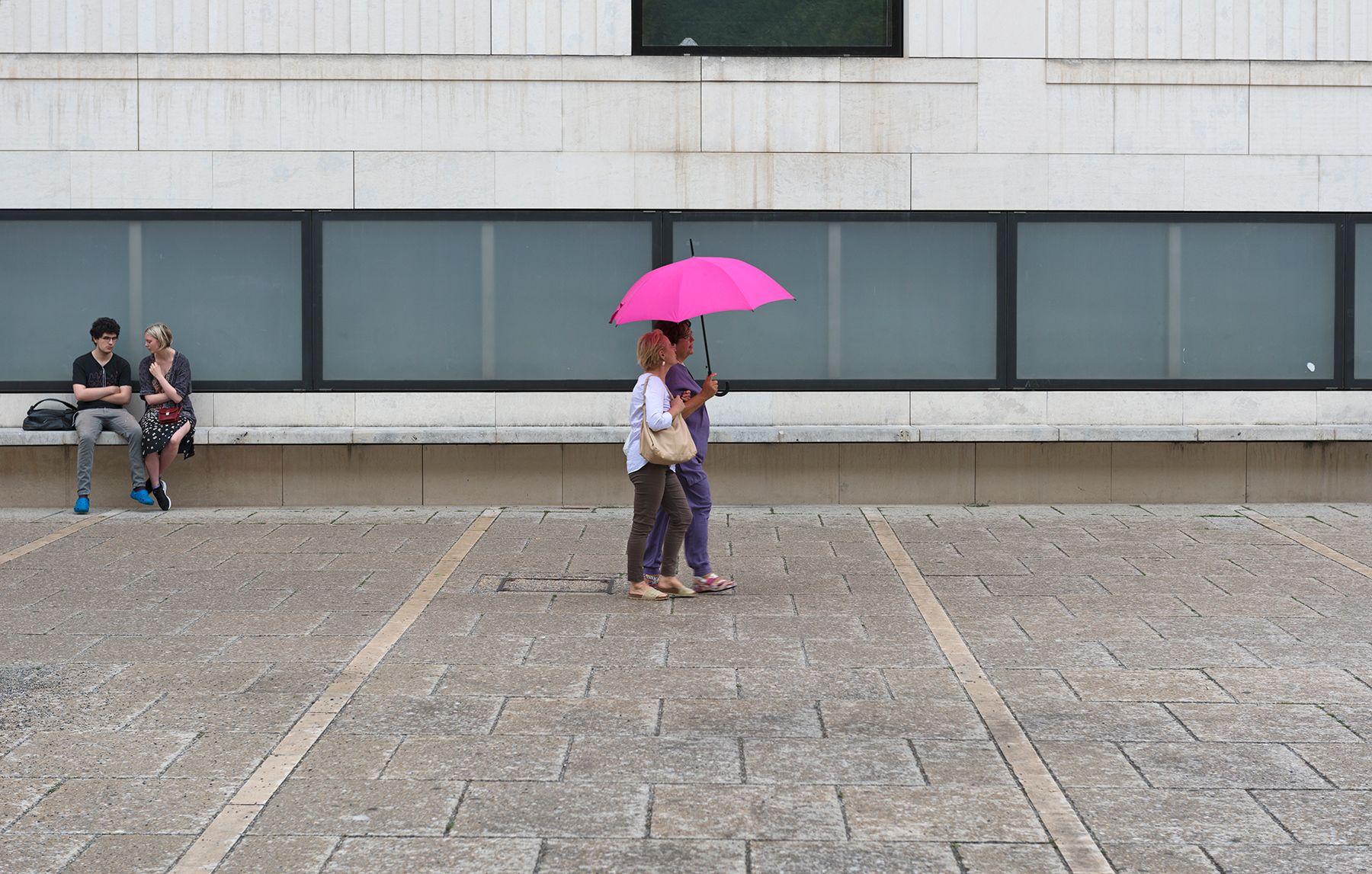 Paraguas sin lluvia