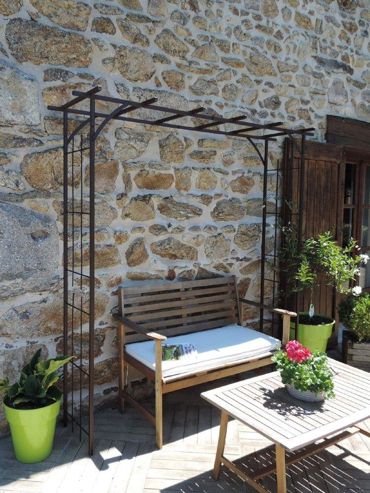 pergola grand mod le d 39 antan jardin pinterest. Black Bedroom Furniture Sets. Home Design Ideas
