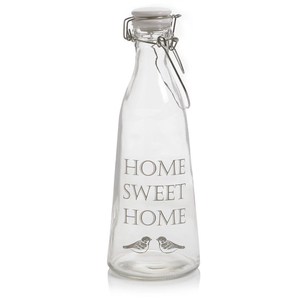 Wilko Home Sweet Home Decor Bottle Joli Pretty Wilko