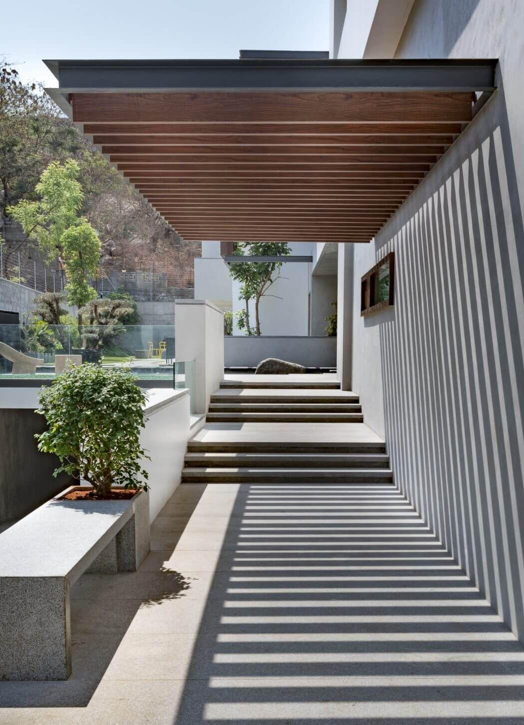 villa 430 by moriq architected pinterest terrasses ext rieur et brise. Black Bedroom Furniture Sets. Home Design Ideas