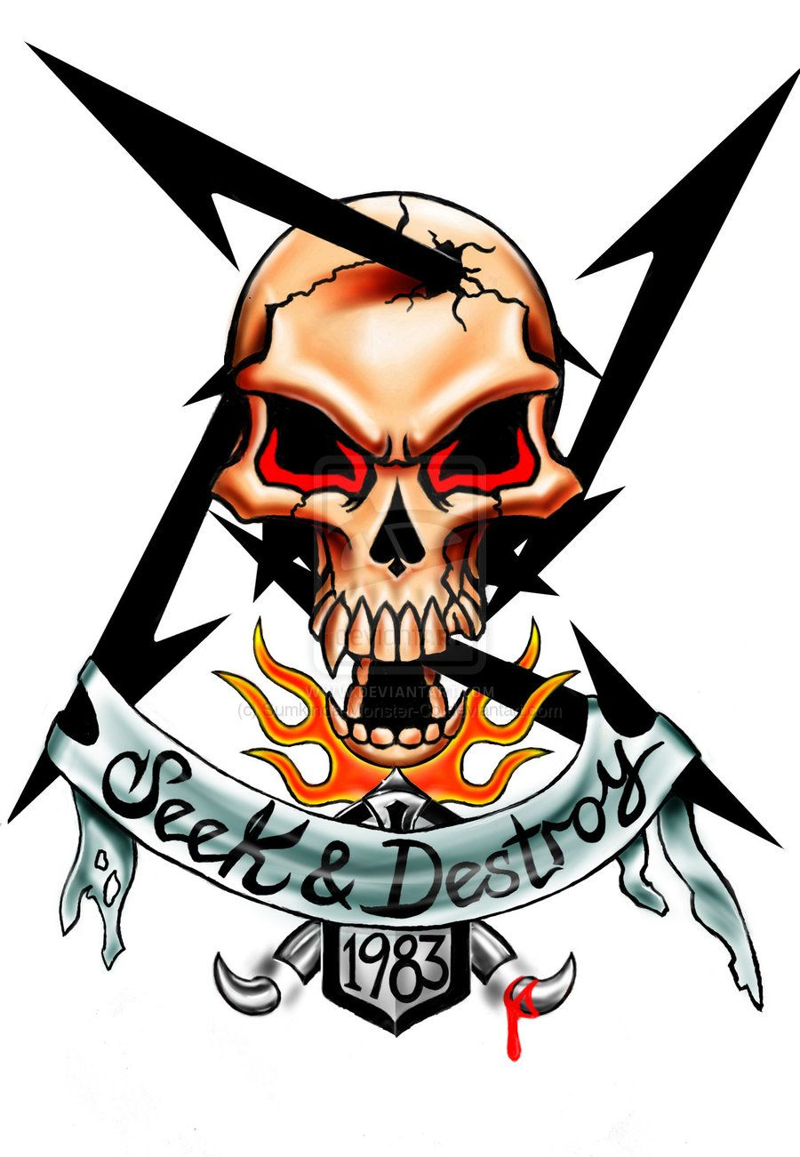 metallica metallica pinterest metallica metals and tattoo rh pinterest com Death Band Tattoo Rock Band Tattoos