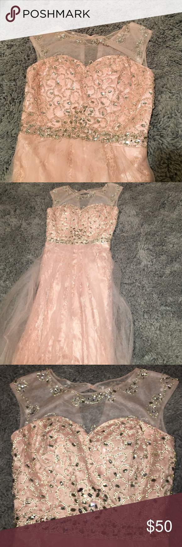 Pink beaded prom dress prom dresses beaded prom dress and girls