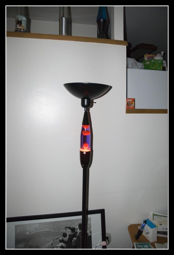 Nice Floor Standing Lava Lamp For Sale