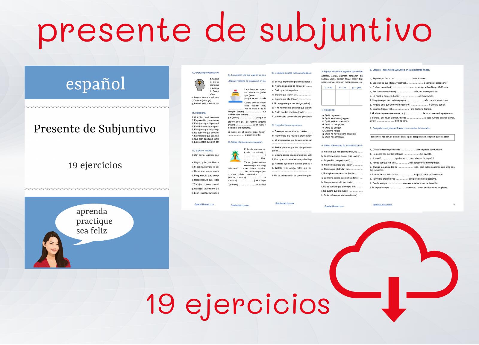 Presente De Subjuntivo Exercises En