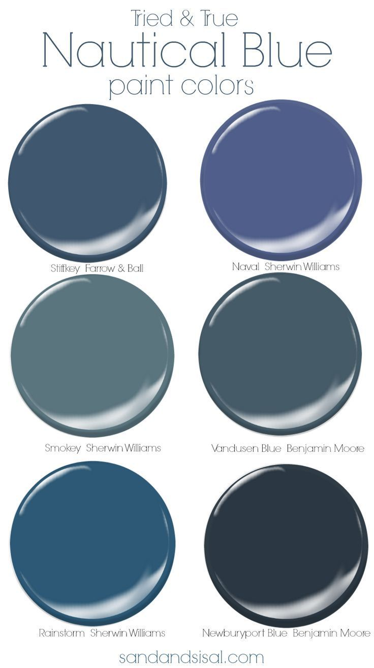 Photo of Tried and True Nautical Blue Paint Colors – Sand and Sisal